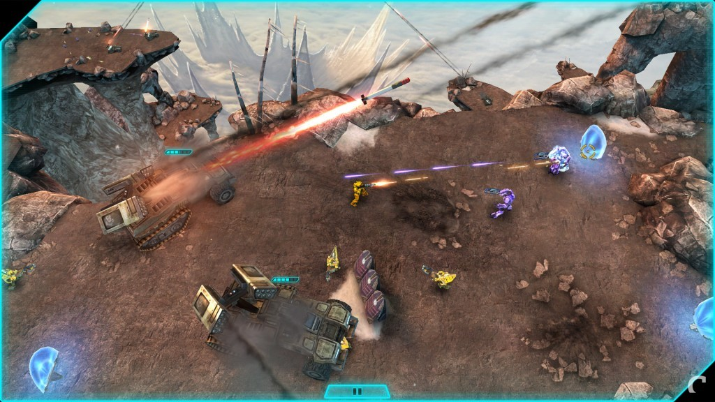 Halo Spartan Assault Screenshot - Wolverine Barrage
