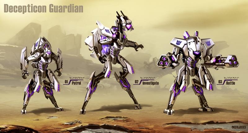 Guardian Decepticon