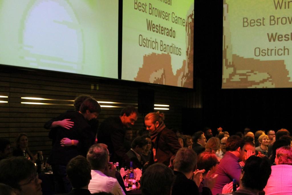 Ostrich Banditos wint Best Browser Game en Best Art Direction