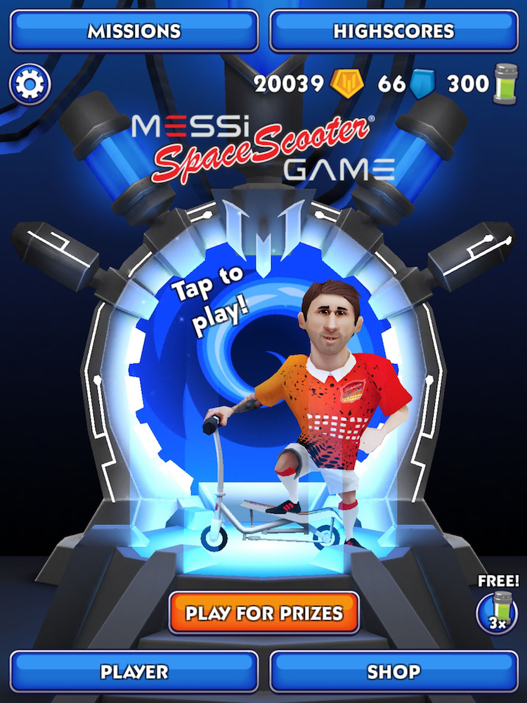 start-screen-of-the-messi-space-scooter-game-21-HR