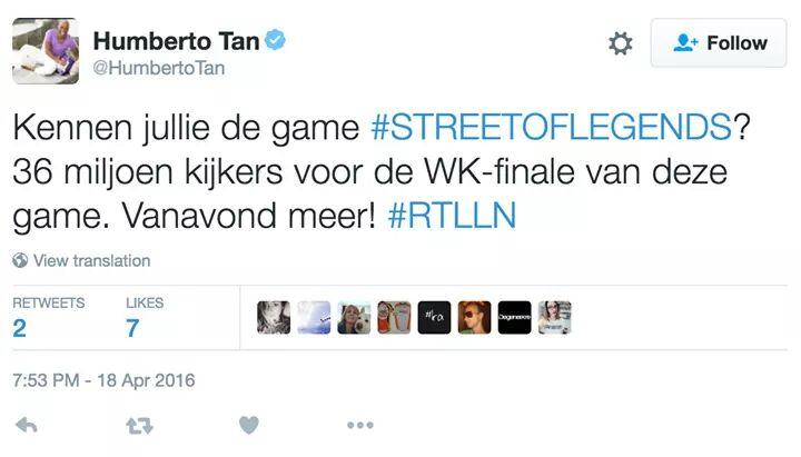 Humberto Tan Street of Legends