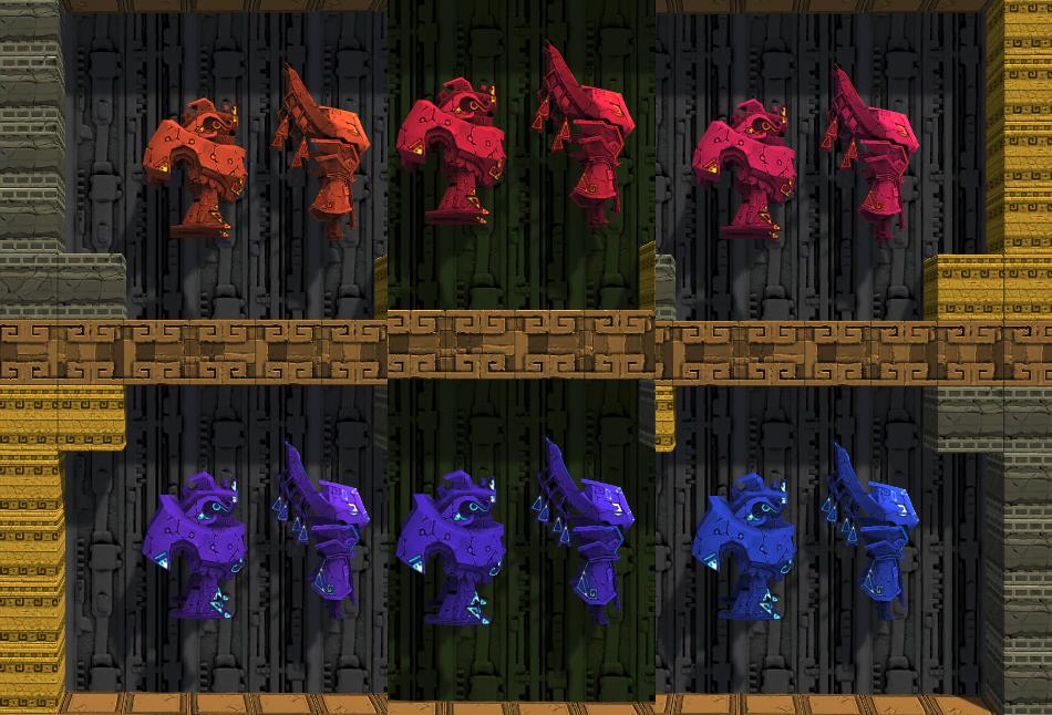 Antegods kleuren