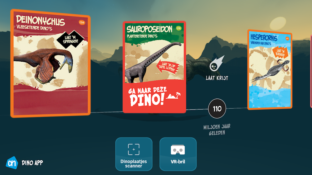 Dino's spaarkaarten