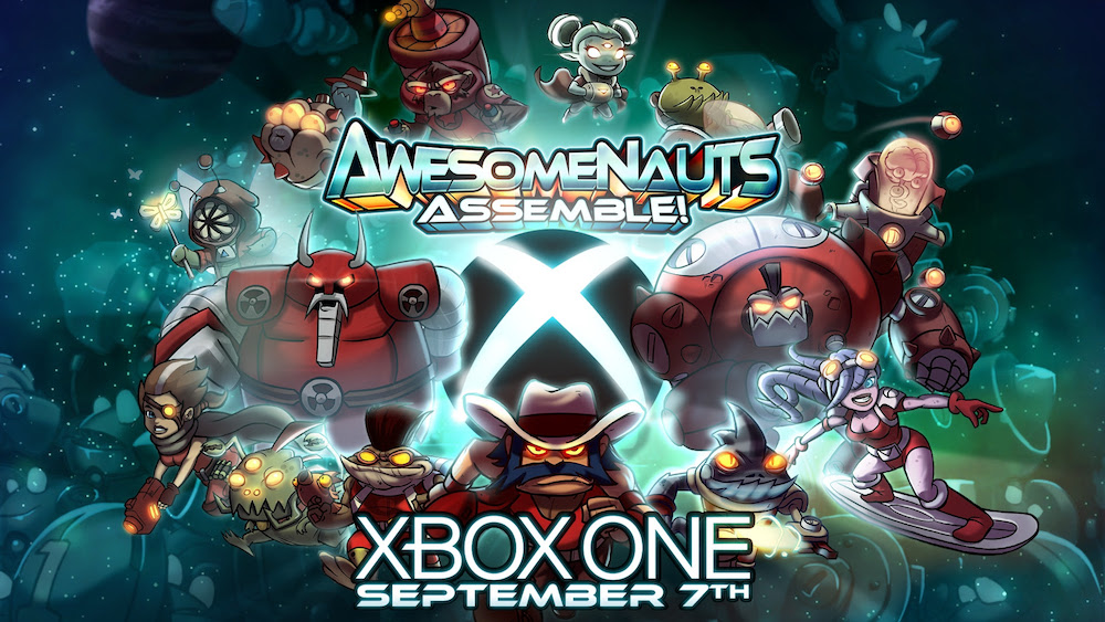 Awesomenauts Assemble Xbox One