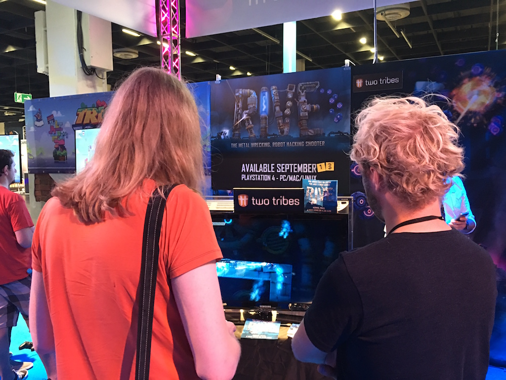 Gamescom 2016 Rive