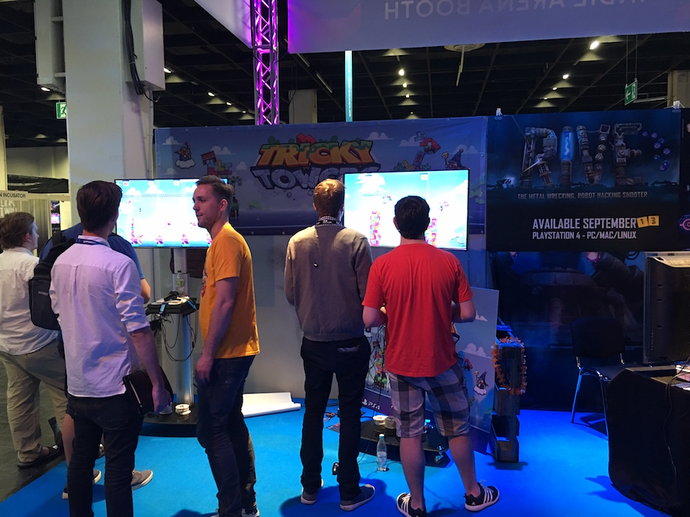 Gamescom 2016 Tricky Towers