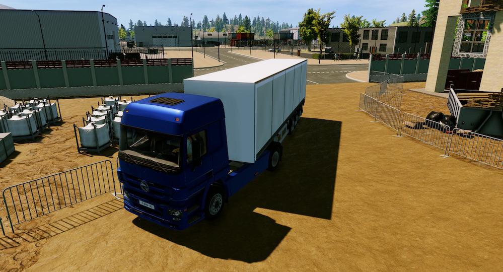 Triangle studios en soedesco ontwikkelen truck driver control